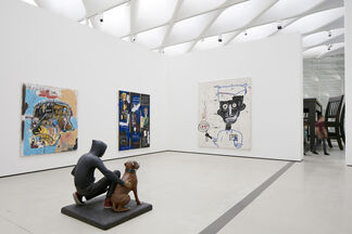 The Inaugural Installation, installation view