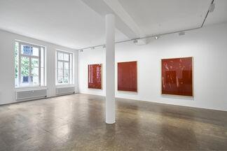 Imi Knoebel - Drawings / Ioan Grosu - Galopp, installation view
