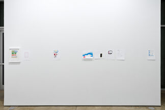 Jim Torok: One Person Show (51 Drawings and 2 Paintings), installation view