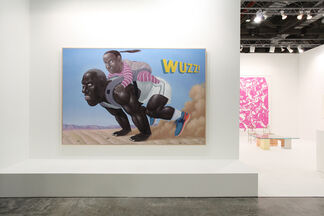Paul Kasmin Gallery at Art Stage Singapore 2015, installation view