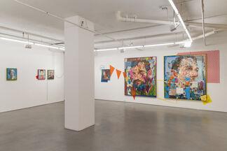Andrew Salgado : The Fool Makes a Joke at Midnight (New York), installation view