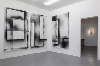 Sophie Whettnall - Border lines, installation view