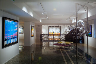 """André Brasilier """"MY ROOTS"""", installation view"""