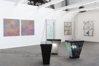 Galerie Valentin at Art Brussels 2016, installation view