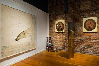 "Joseph Rossano ""Pleistocene Dreams and Northwest Natives"", installation view"