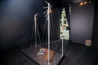LABORATORIA Art&Science Space at Cosmoscow 2015, installation view