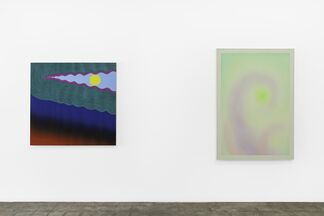 This Is Where a Line Begins, installation view