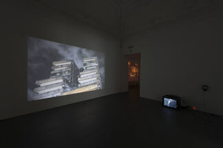 """TOBIAS ZIELONY """"The Dream Lovers. The Films 2008 - 2014"""", installation view"""