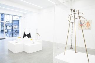 Calder & Melotti, Children of the Sky, installation view