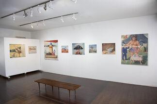 Goya in Tijuana, installation view