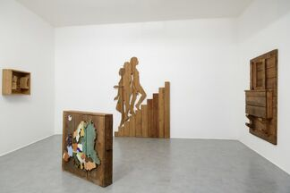 Mario Ceroli 1962 - 68, installation view