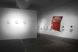 The Mustangs in Social Modulator, installation view