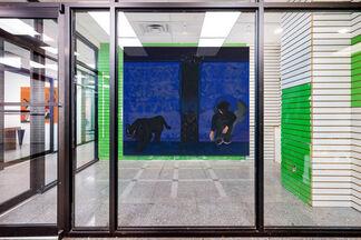 """Florian Krewer: Eyes on Fire"", installation view"