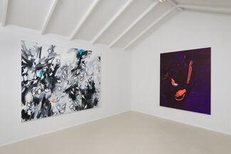 "Sam McKinniss - ""Dear Metal Thing"", installation view"
