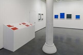 Antonakos: 1977-78, Cuts and a Wall, installation view