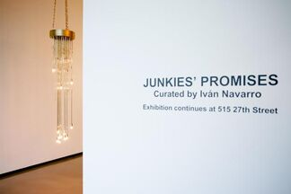 Junkies Promises: Curated by Iván Navarro, installation view