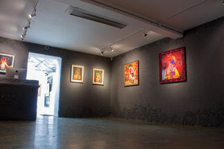 Olek: Let's Not Get Caught, Let's Keep Going, installation view