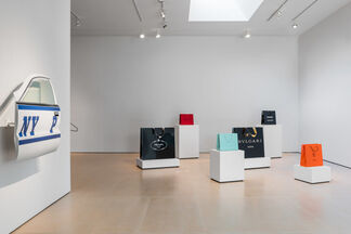 DISAPPEARING FABRIC: Sculpture by Jonathan Seliger, installation view