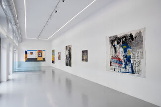African Characters, installation view