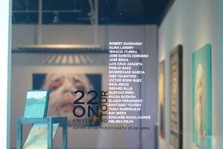 22 On Tour, installation view