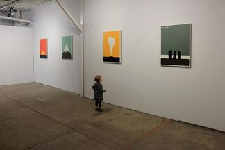 Features: New Work by Julian Montague, installation view