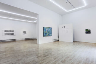 Three Contained, installation view