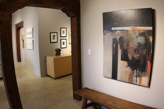 At the Threshhold of Becoming - Mixed Media Works by Gary Bibb, installation view
