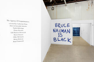 The Agency Of Acquaintances, installation view