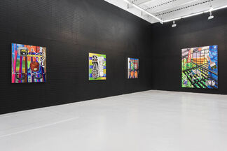 """Royal Jarmon """"Fire Escaping"""", installation view"""