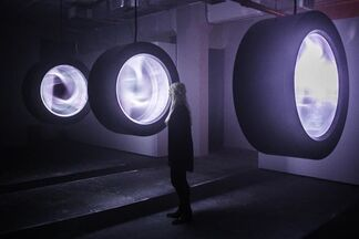 Liminal Scope at Industry City, installation view