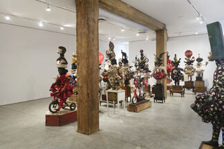 Vanessa German: i am armed. i am an army., installation view