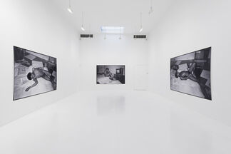 Paige Powell: Jean-Michel Basquiat Reclining Nude, installation view