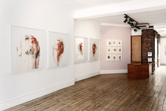 Wounded, installation view