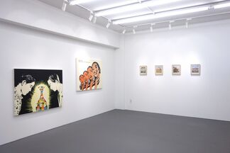 """""""Select the Right Bad Picture"""" by Dina Gadia, installation view"""