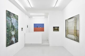 """""""cet espace sans ombre"""", installation view"""
