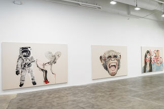 Marc Séguin: I Love America and America Loves Me, installation view
