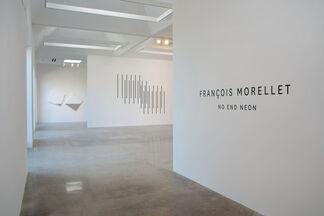 François Morellet, No End Neon, installation view
