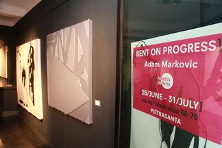 Bent on Progress, installation view