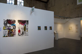 Galerie Franzis Engels at Art on Paper Amsterdam 2018, installation view