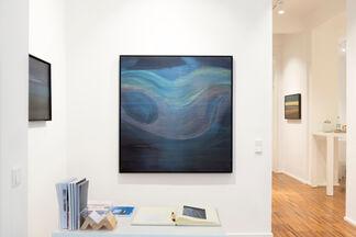 Peter Lang und das Polarlicht, Malerei, installation view