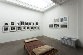 LOVE ON THE LEFT EYE, installation view
