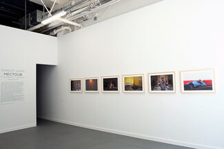 """Scarlett Coten, """"Mectoub, in the shadows of the Arab spring """", installation view"""