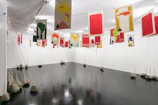 Rivane Neuenschwander: The Reading Box, The Moon, Misfortunes and Crimes, installation view