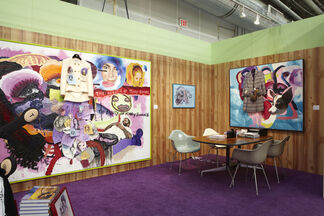 Rod Bianco Gallery at The Armory Show 2013, installation view
