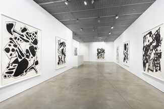 Mel Kendrick - Water Drawings, installation view