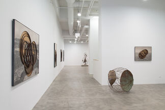 Michael Brown: Schematics and Silhouettes, installation view