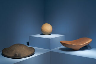 Shaped Stone of the Sahara, installation view
