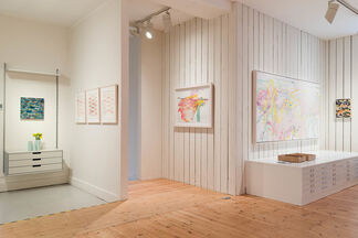 WE LIVE NOW - Julian Brown & Emily Ball, installation view