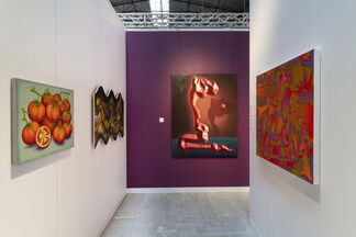 The Hole at Enter Art Fair 2020, installation view