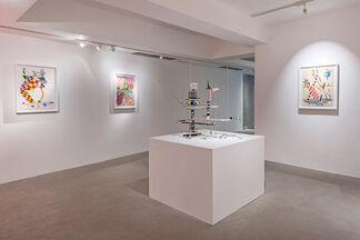 """Peter Shire """"Silhouette, Soufflés & Succotash"""", installation view"""